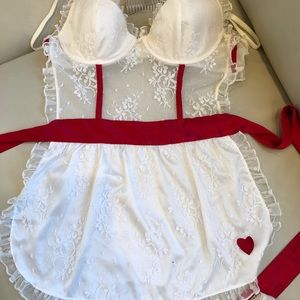 Victorias Secret Sexy Nurse Lingerie 34B/M